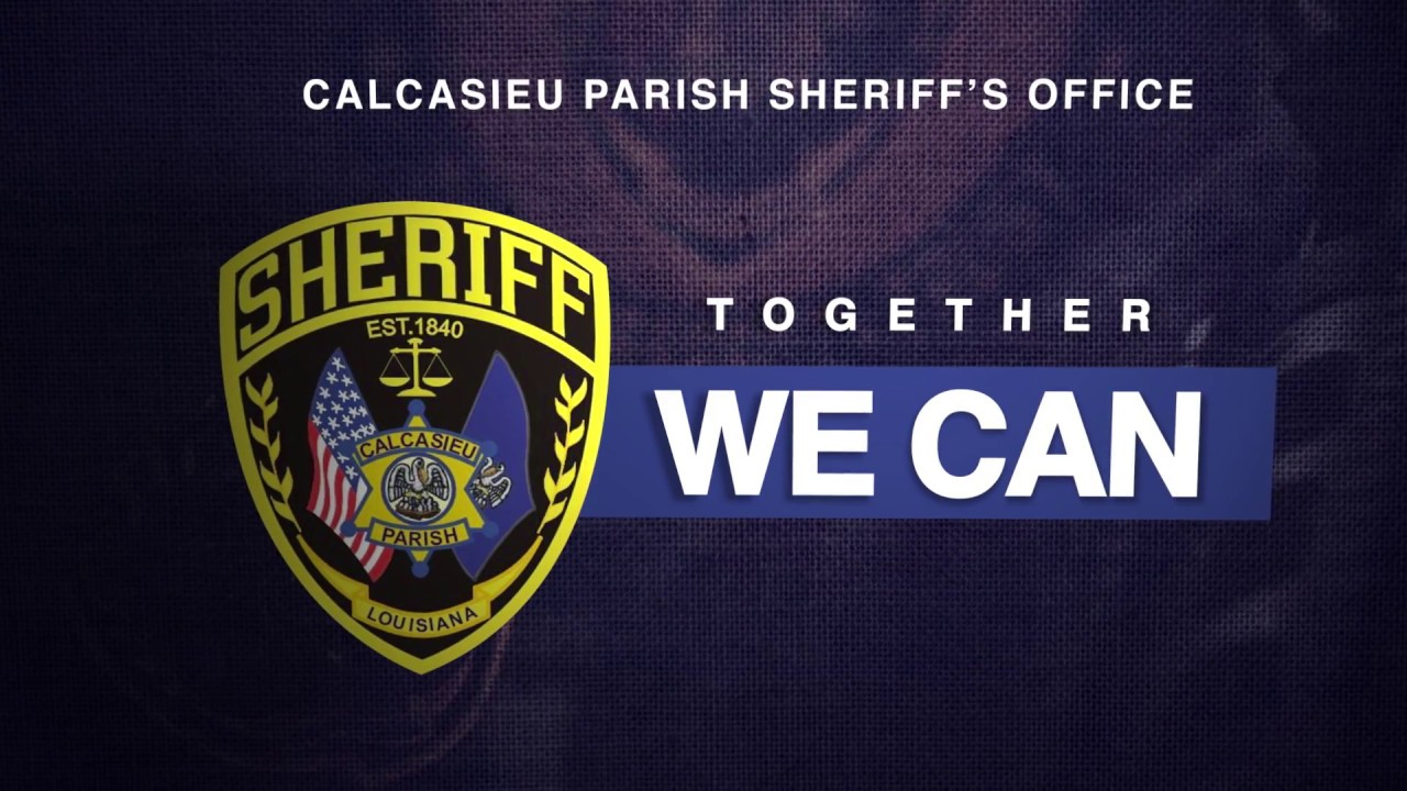 Together We Can Campaign Calcasieu Parish Sheriff S Office