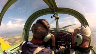 AerospaceTV  - Aerobatic introduction flight Fokker S-11 Instructor EHMZ