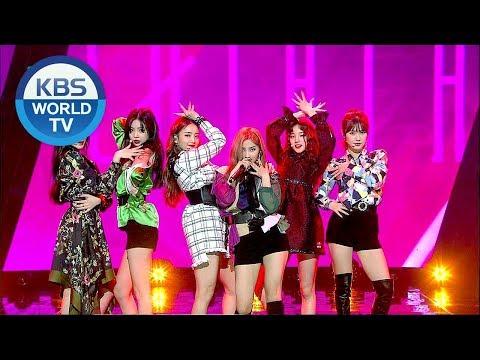 (G)I-DLE ((여자) 아이들) - LATATA [Music Bank / 2018.06.01]
