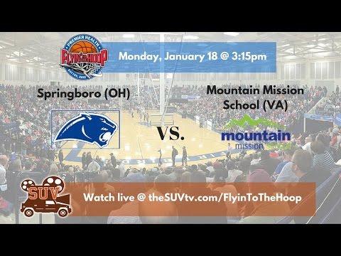 Flyin' To the Hoop: Mountain Mission School (VA) vs. Springboro (OH)