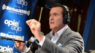 Bruce Campbell grows his own Marijuana - @OpieRadio
