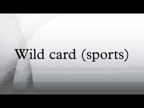 Wild card (sports)
