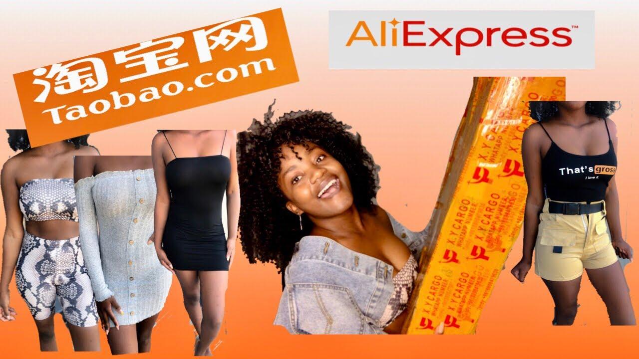 淘宝服装运输 |AlIEXPRESS SUMMER HAUL |UNBOXING TRY ON