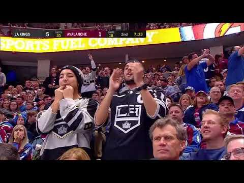 Anze Kopitar 3rd goal. Los Angeles Kings vs Colorado Avalanche 3/22/2018