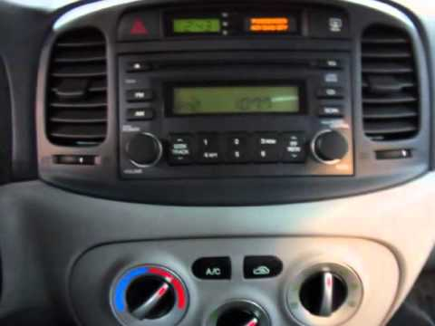 2006 Hyundai Accent 4dr Sdn Gls Auto Youtube