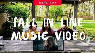 Christina Aguilera ft Demi Lovato   Fall In Line (Official Video) Reaction   The Millennial Chisme