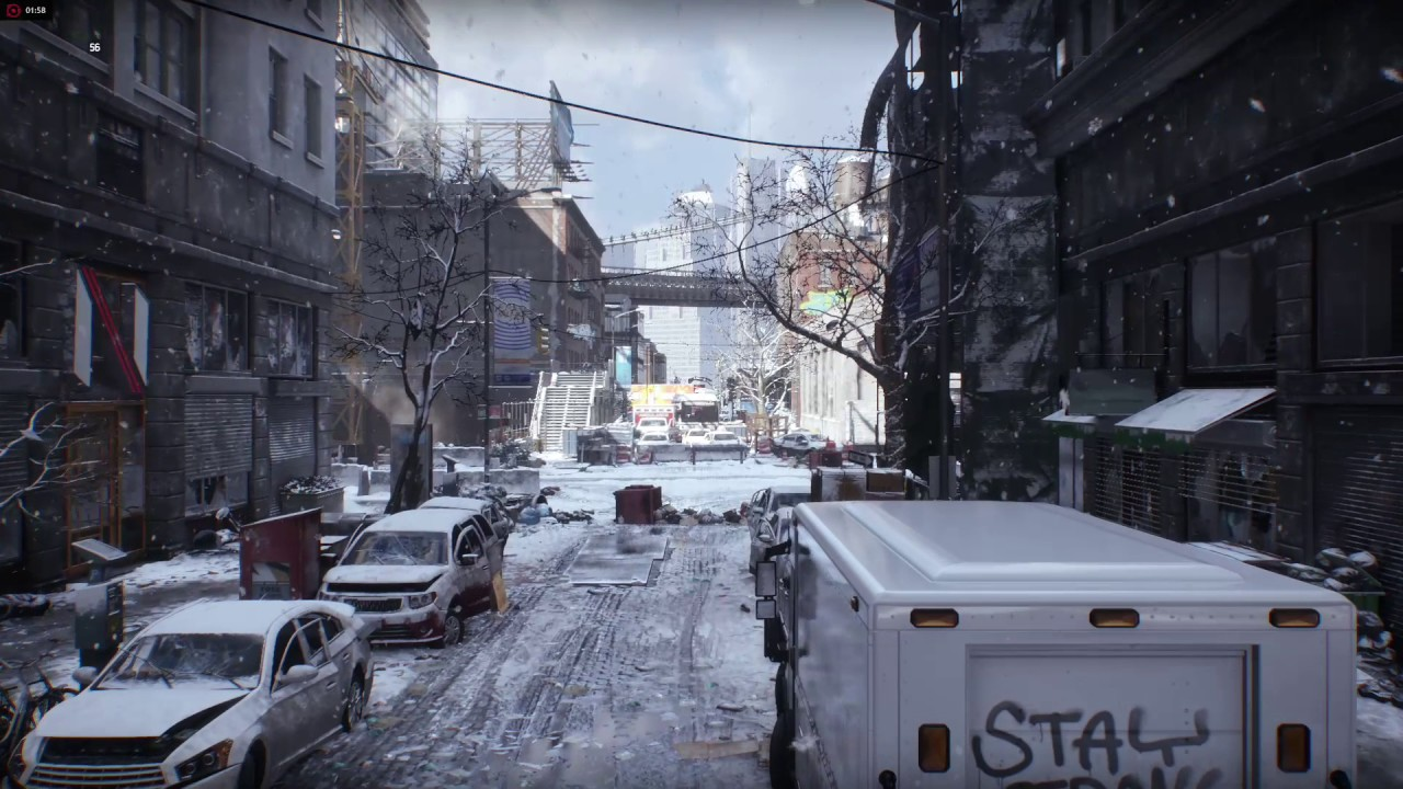 The Division dx12 AMD FX 8350 + MSI R9 390X driver 16 12 1