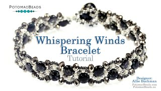Beadweaving 850   Whispering Winds Bracelet
