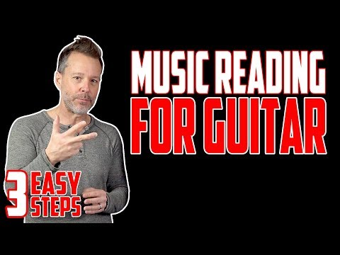 Musical Notation in 3 Easy Steps - Music Reading For Guitar