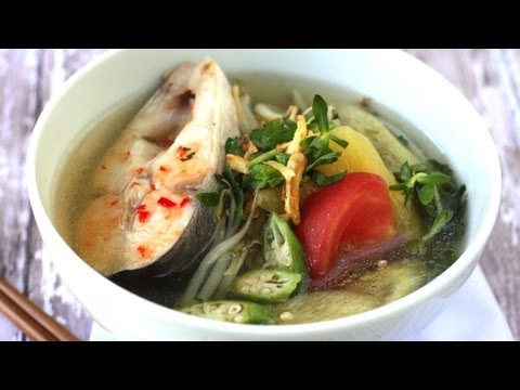 How to make Canh Chua (Vietnamese sweet and sour fish soup)