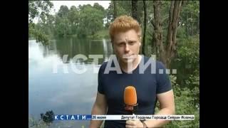Трагедия произошла произошла на озере под Дзержинском