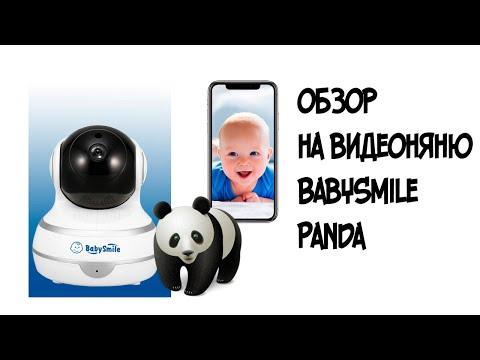 Обзор видеоняни BabySmile Panda супер