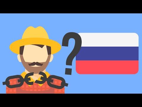 Почему в России отменили крепостное право?