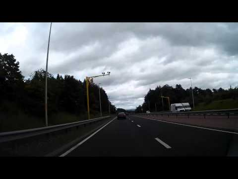 Drive From Stirling To Perth Perthshire Scotland