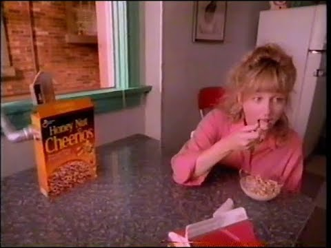 1993 - Honey Nut Cheerios - Vacuum Commercial