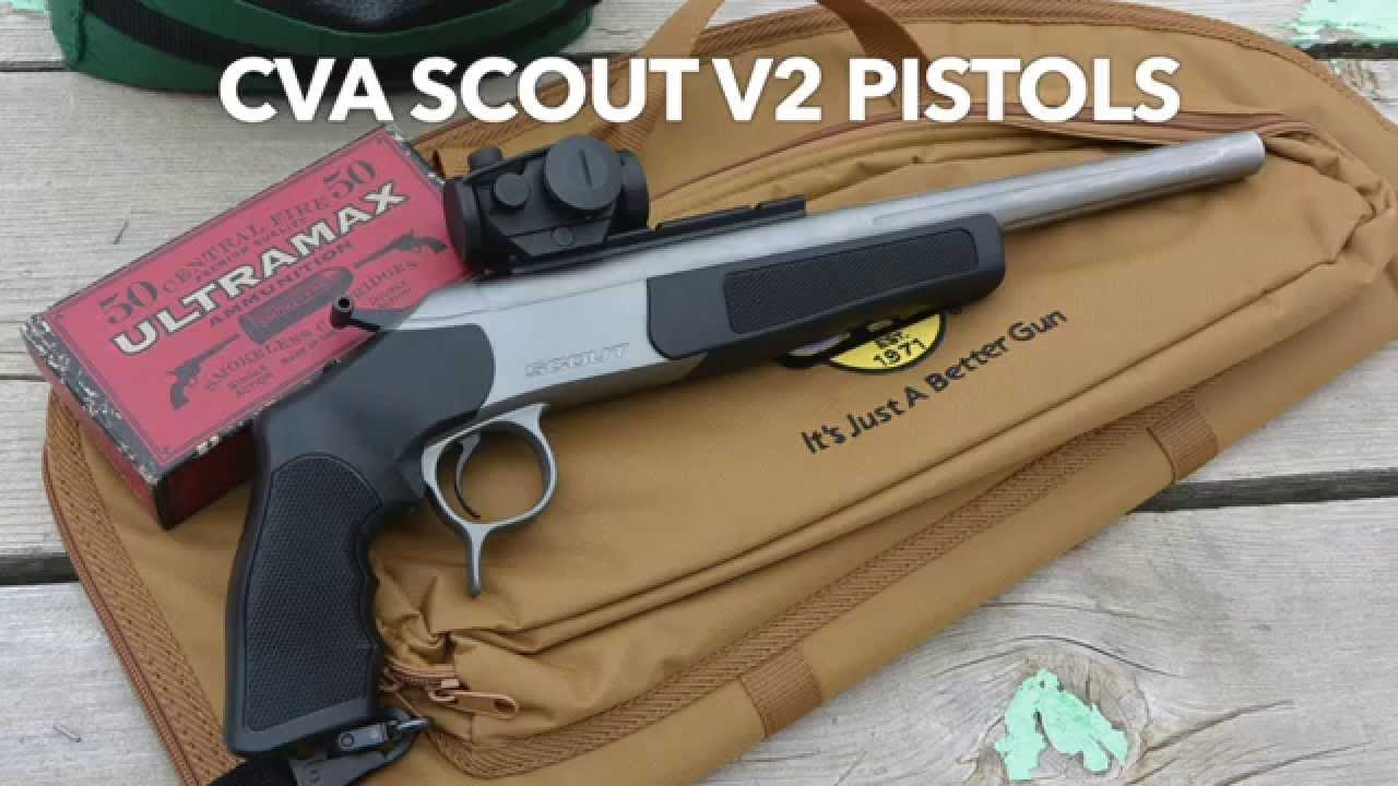 New Cva Scout V2 300 Blackout 44 Mag Pistols Youtube