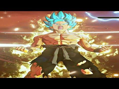 Dragon Ball Z: Kakarot - Super Saiyan Blue Goku Vs Frieza