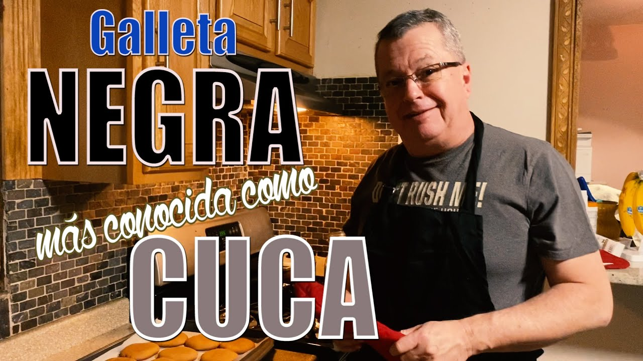 GALLETA NEGRA / CUCA COLOMBIANA