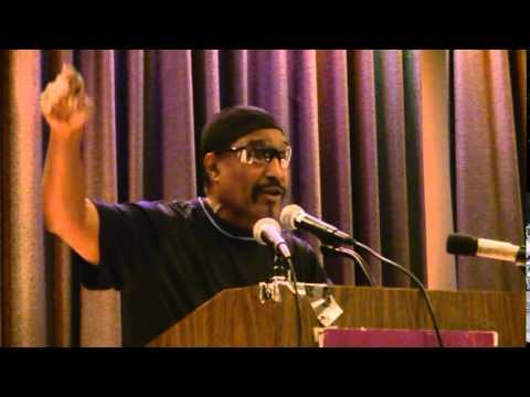 Dhoruba Bin-Wahad Honoring Imam Jamil Al-Amin, formerly known as H. Rap Brown