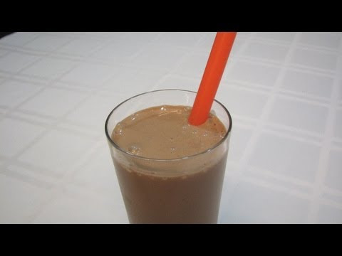 Chocolate --Peanut Butter Shake -- Lynn's Recipes