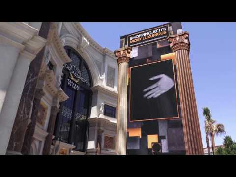THE FORUM SHOPS at Caesars Palace - Las Vegas, Nevada - June 2017