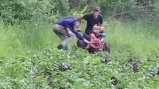 ogrodowych ziemniaki ciągnik jednoosiowy 6 km