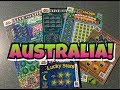 WIN! Mix of Australia Lottery Scratch Off Tickets!