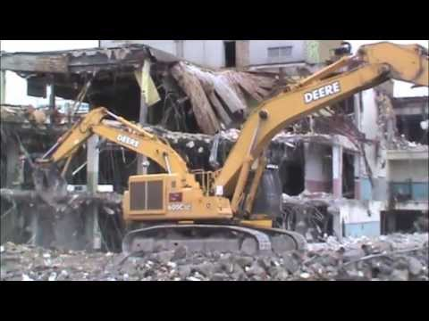 Boston Herald Mail Room Demolition