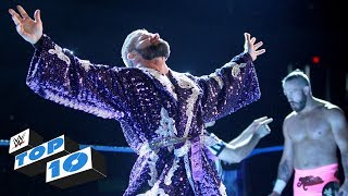 Top 10 SmackDown LIVE moments: WWE Top 10, August 29, 2017 thumbnail