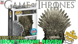 Game of Thrones: Iron Throne Funko Pop! Review! NYCC 2015 Exclusive!