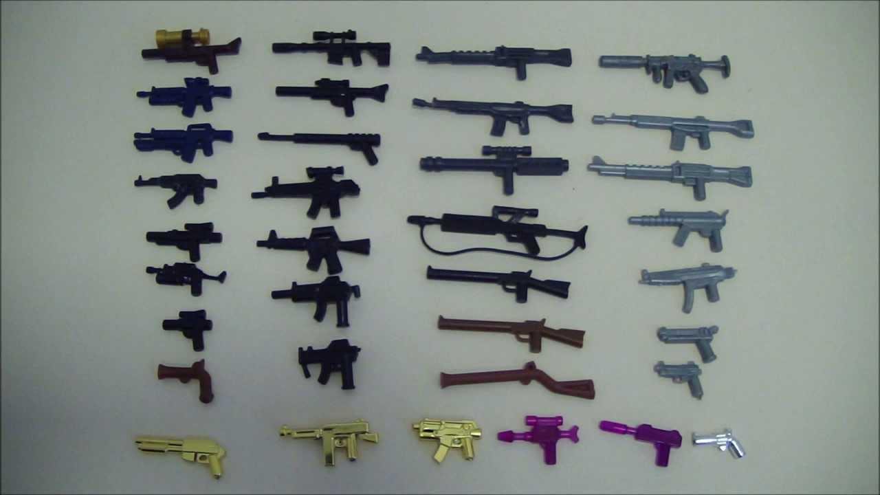 Лего оружие своими руками