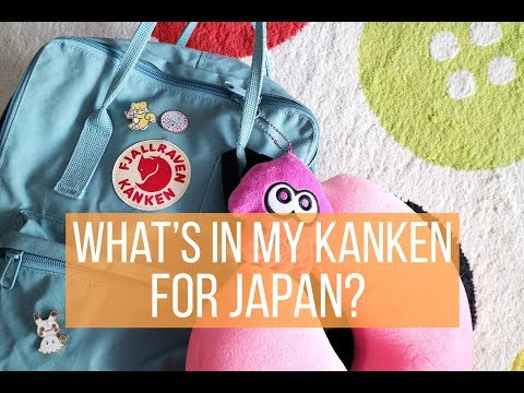 What's in My Kanken Bag? Japan Trip Edition