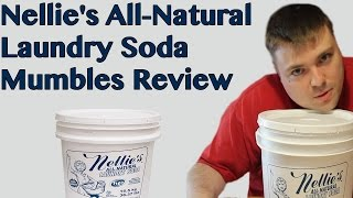 Nellie's All-Natural Laundry Soda || Mumbles Product Review