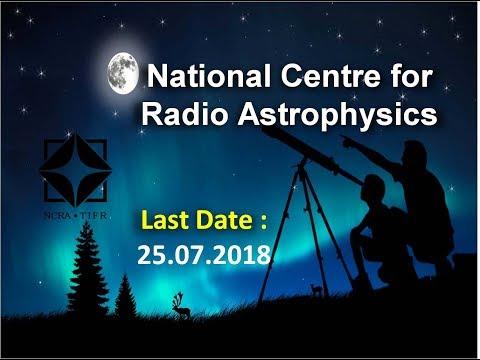 National Center for Radio Astrophysics | IUCAA recruitment