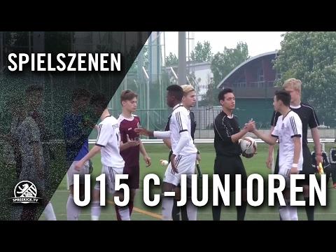BFC Dynamo - Tennis Borussia Berlin (U15 C-Junioren, Verbandsliga) - Spielszenen | SPREEKICK.TV