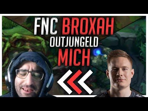 FNC Broxah hat mich Outjungled! [League of Legends] thumbnail