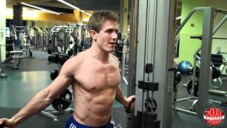 How To: Low Cable Chest Fly