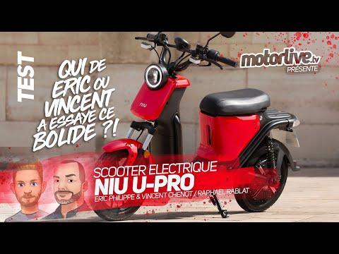 NIU U-PRO | TEST MOTORLIVE