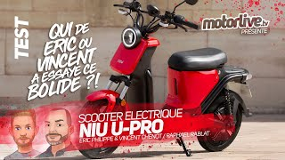 NIU U-PRO   TEST MOTORLIVE
