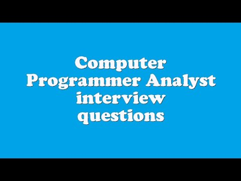 it analyst interview questions