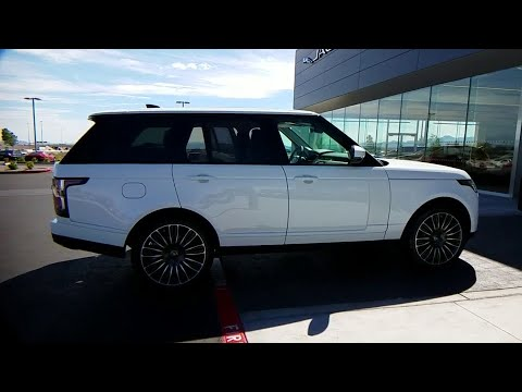 Range Rover Las Vegas >> 2019 Land Rover Range Rover Las Vegas Henderson North Las Vegas Nevada San Bernardino County L19