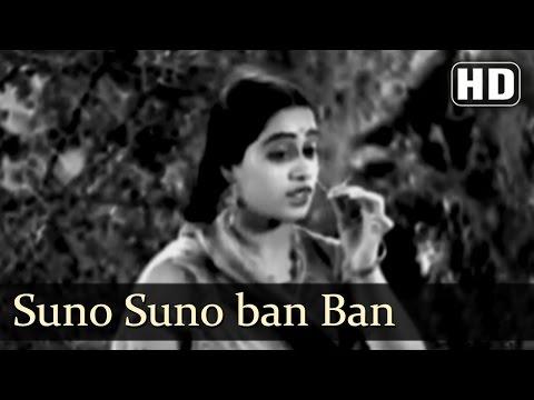 Suno Suno Ban Ke Prani| Amar Jyoti Songs | Durga Khote | Shanta Apte | Chandra Mohan | Filmigaane