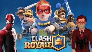 Örümcek Adam Örümcek Çocuk ile Playstation Ödüllü Clash Royale Oynuyor (Çocuklar İçin)