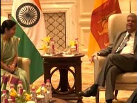 PM Ranil Wickremesinghe meets Indian Ministers for talks in New Delhi (English)