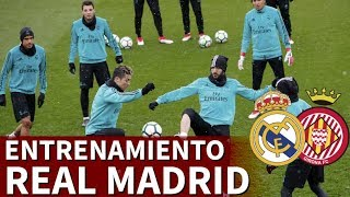 Real Madrid-Girona | Entrenamiento del Real Madrid | Diario AS