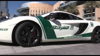 New McLaren MP4 12C in Dubai Police Fleet