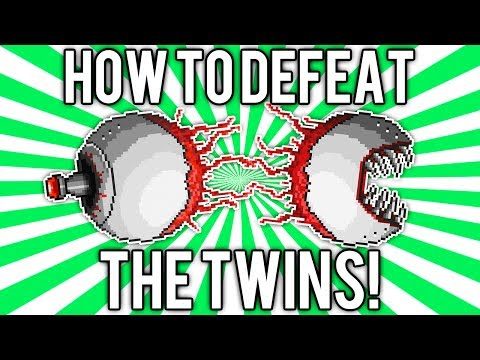 Terraria 1.2: How to Defeat The Twins! (UPDATED EASY SOLO GUIDE / TUTORIAL) [demize]