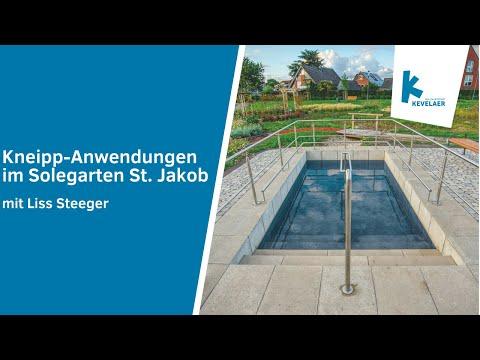 Kneipp-Anwendungen im Solegarten