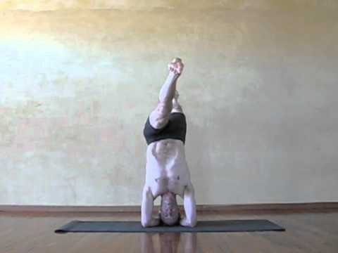 advanced yoga headstand variations  youtube