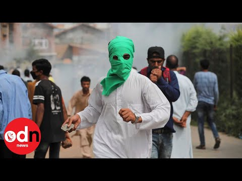 Protesters Clash with Police in Indian-Controlled Kashmir